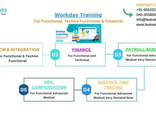 workday training for HCM, PAYROLL, ABSENCE, INTEGRATION, STUDIO More..
